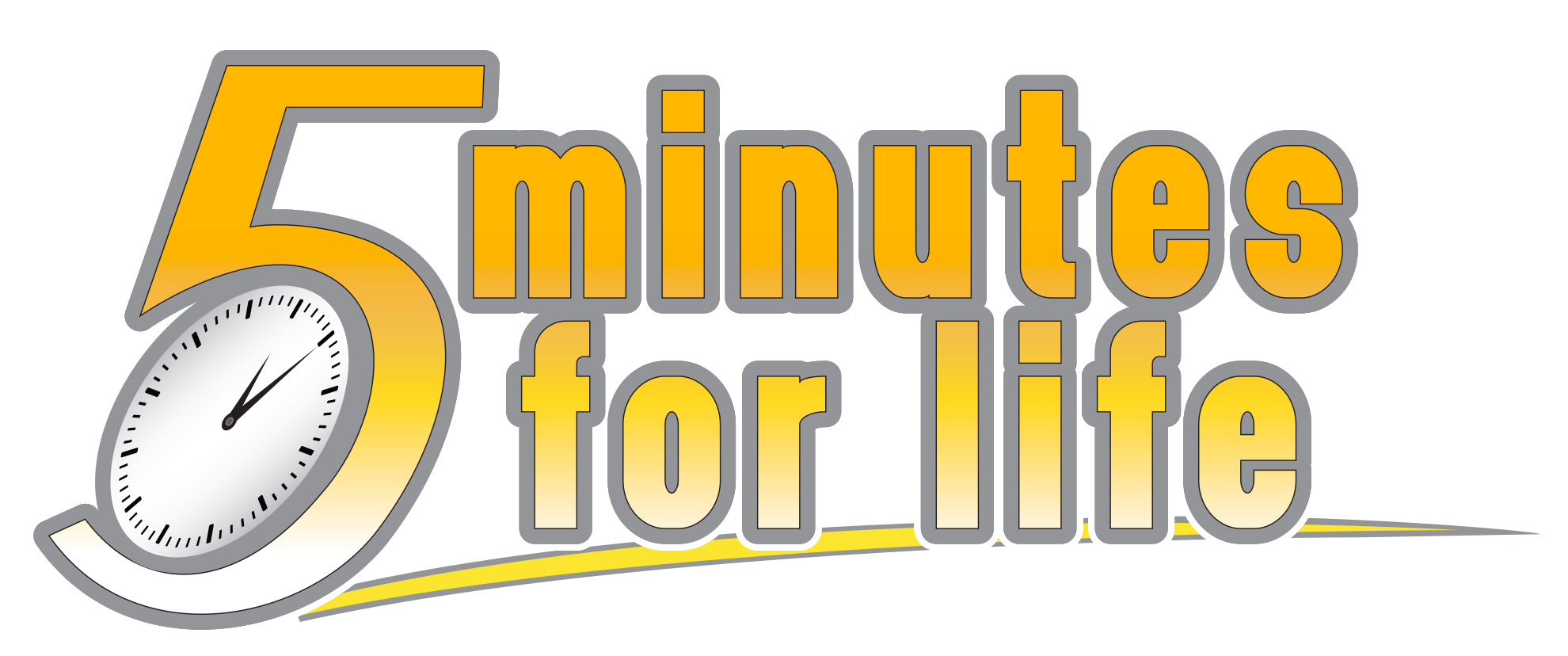 5 Minutes for Life Logo