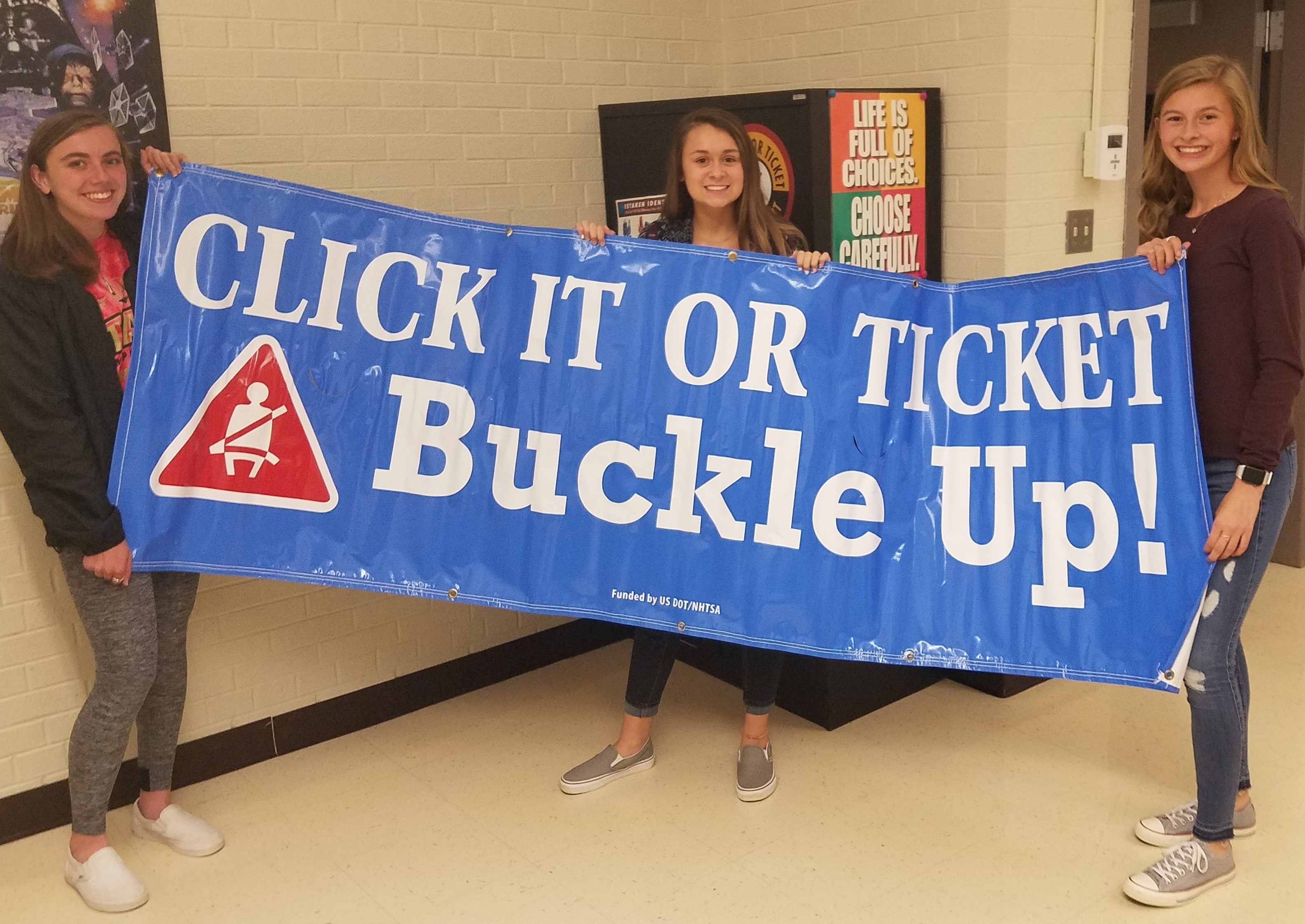Click It Or Ticket Banner Logo