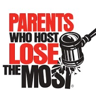 """Parents Who Host, Lose the Most"" Logo"