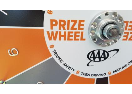 Teen Driver Safety Prize Wheel